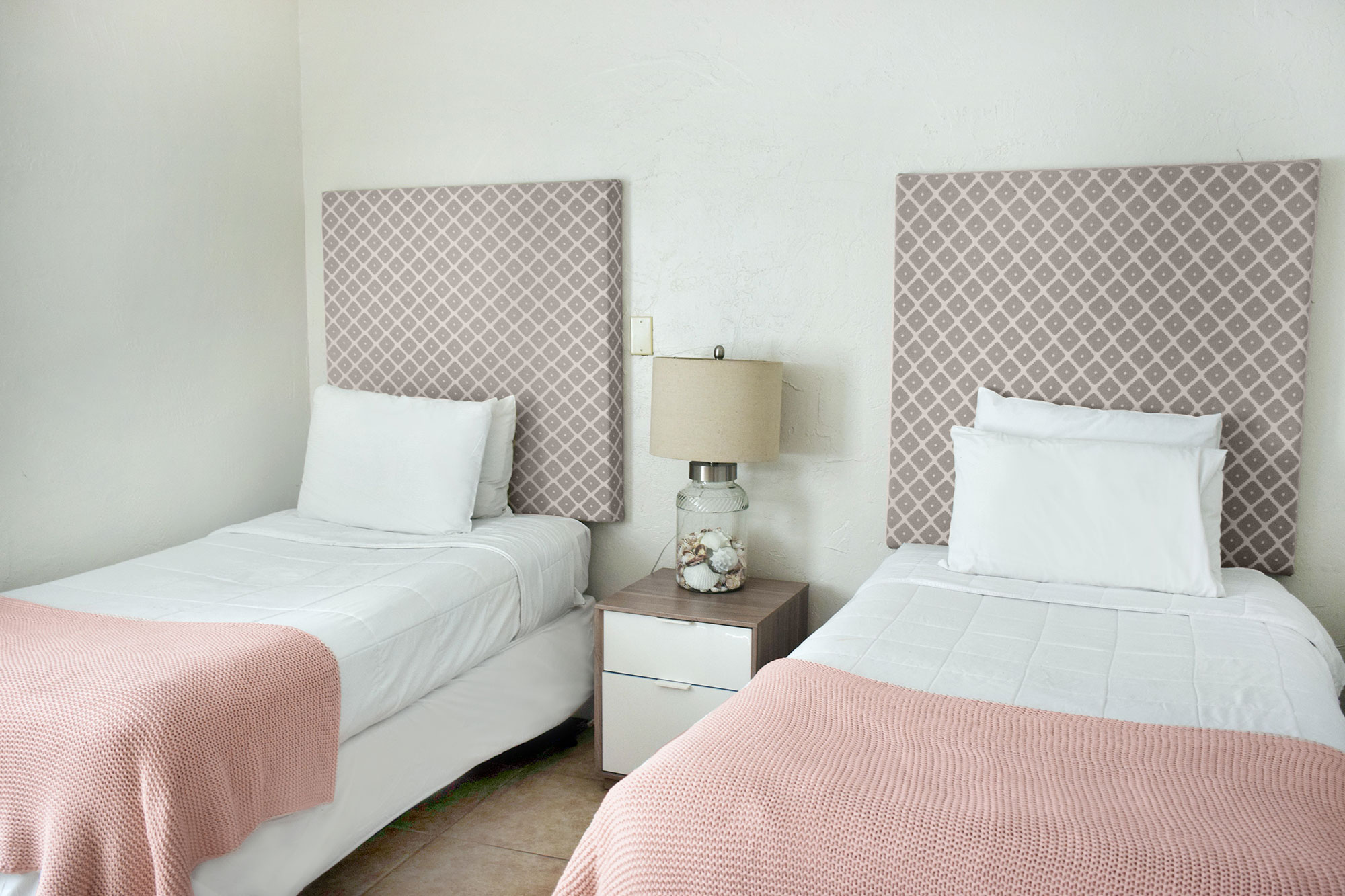 2 twins bedroom at Coral Reef Apartments